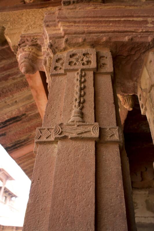 Carved Column