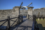 Castillo de San Marcos' Elevated Walkway