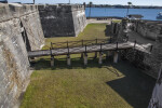 Castillo de San Marcos' Main Drawbridge