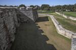 Castillo de San Marcos Main Wall and Moat