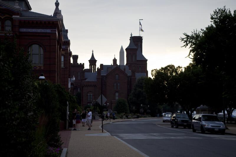 Castle and Washington Monument