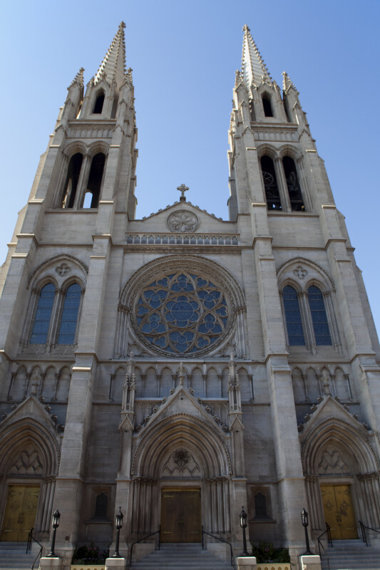 Cathedral of the Immaculate Conception Façade