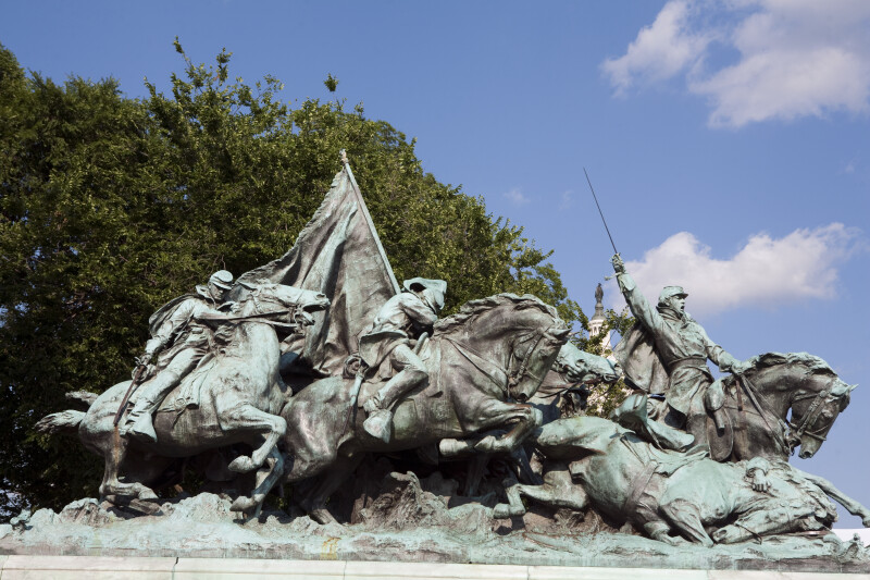 Cavalry Sculpture