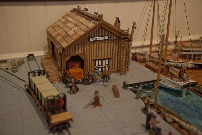 Cedar Key Docks Model