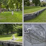 Central Burying Ground photographs