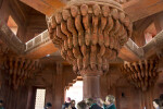 Central Pillar of Diwan-i-khas