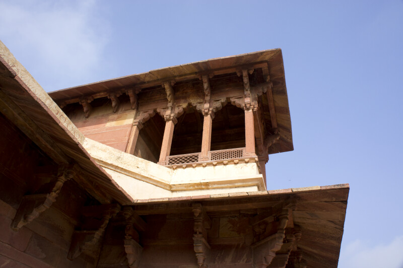 Chajja on Jodha Bai's Palace