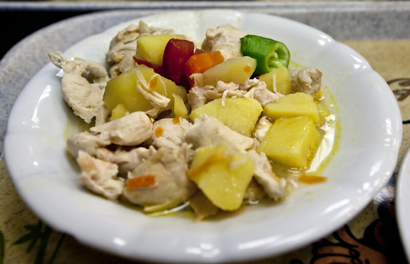 Chicken Vegetable Dish