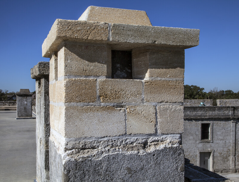 Chimney on the Castillo de San Marcos