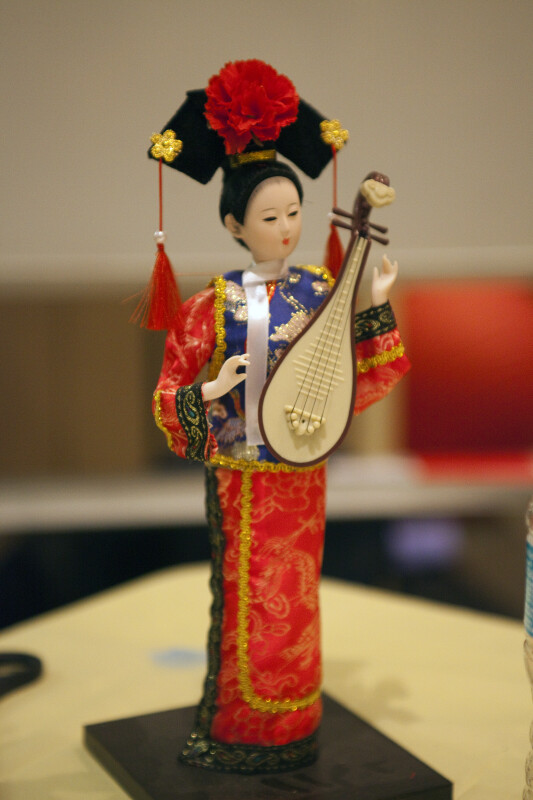 Chinese Doll with Pipa