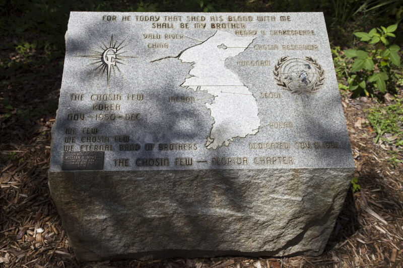 Chosin Few Memorial Stone