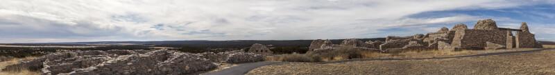 Church and Pueblos at Gran Quivira