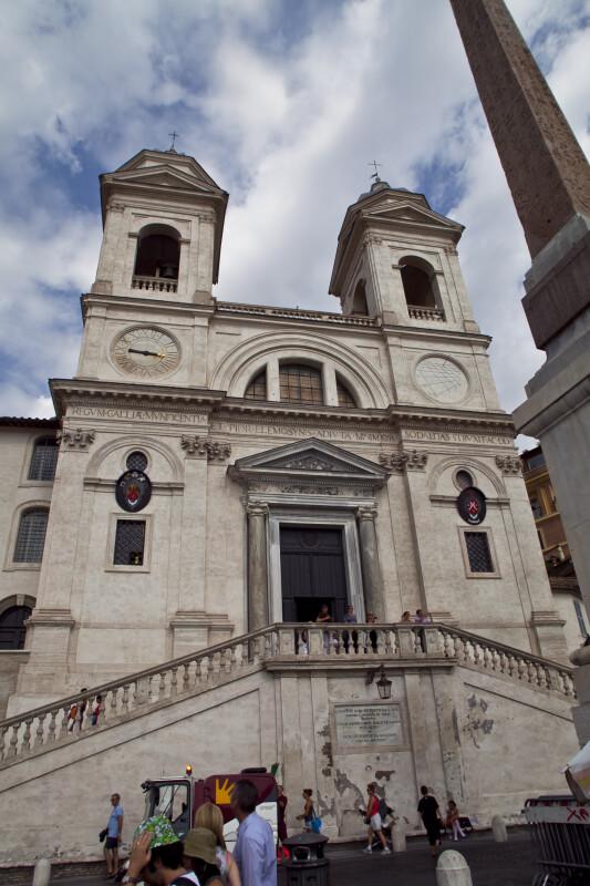 Church of the Santissima Trinita' dei Monti