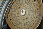 Circular Roof at the Quincy Market in Boston, MA