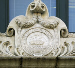 City of Tampa Seal above City Hall Entrance