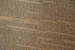 Civil War Newspaper: Captured Guns and Flags