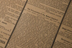 Civil War Newspaper: Fall of Richmond Virginia