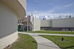 Clarifier and Aeration Basin at Water Reclamation Facility