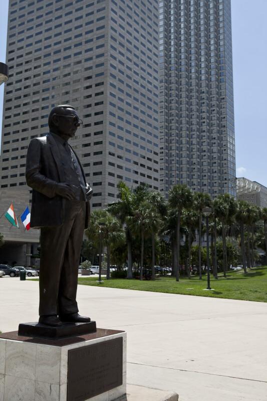 Claude Pepper Statue