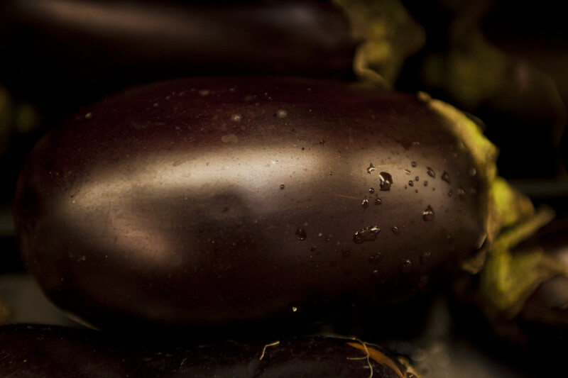 Close-up of Eggplant