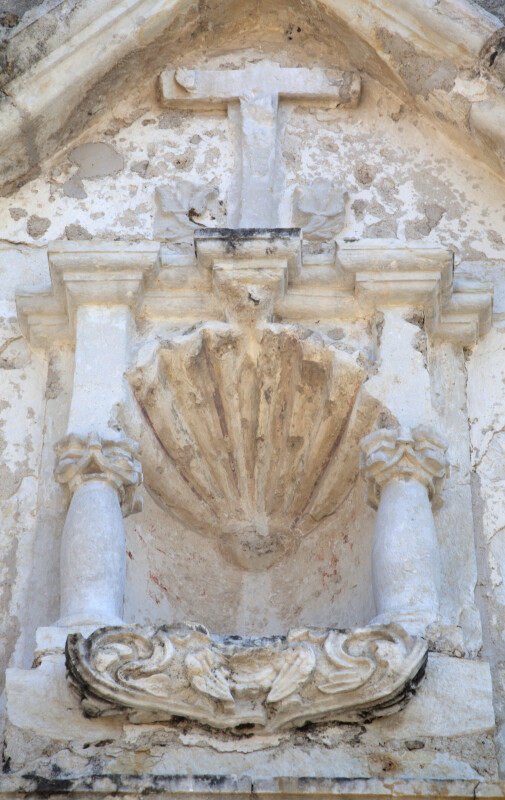Close-up of Stonework at Mission Concepción
