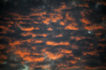 Clouds with Pinkish Hue