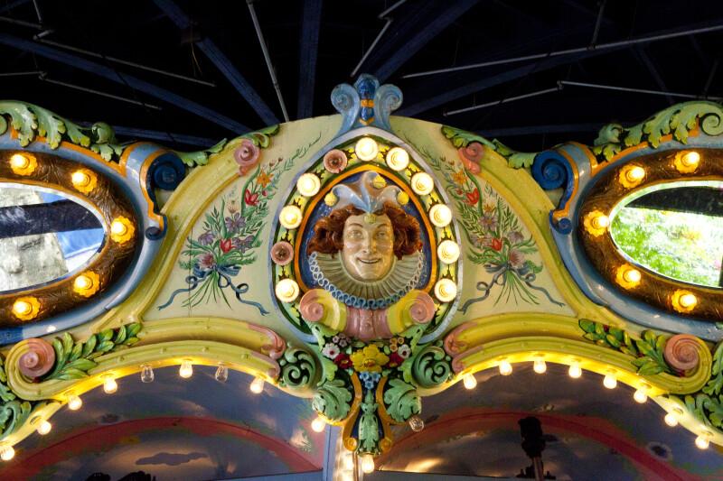 Clown on Merry-Go-Round