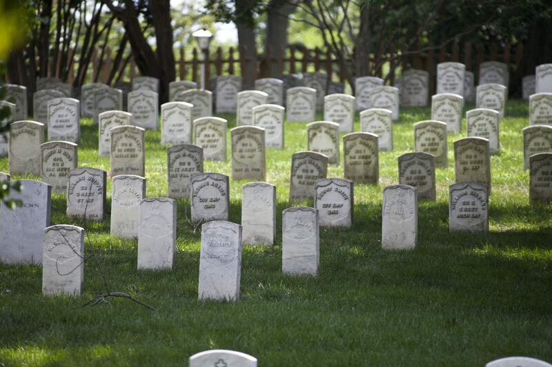 Cluster of Headstones