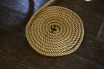 Coiled Cordage on the Ground