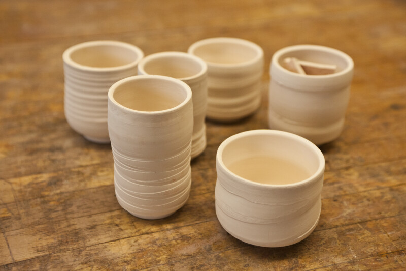 Collection of Ceramic Cups and Jars
