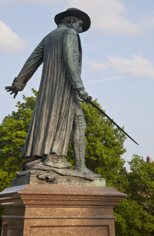 Colonel William Prescott Statue, Bunker Hill Monument