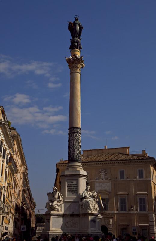 Colonna dell'Immacolata.