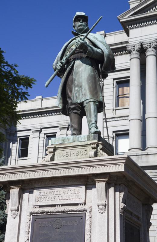 Colorado Civil War Soldier