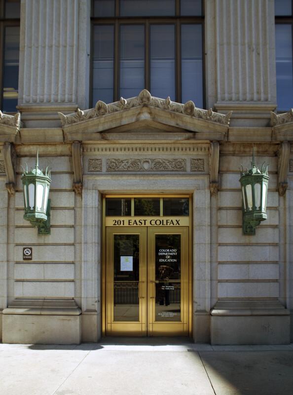 Colorado Department of Education Entrance