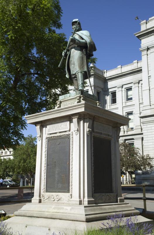 Colorado Soldier's Monument