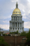 Colorado State Capitol Building Dome