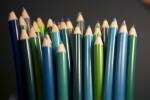 Colored Pencils, Cool Colors