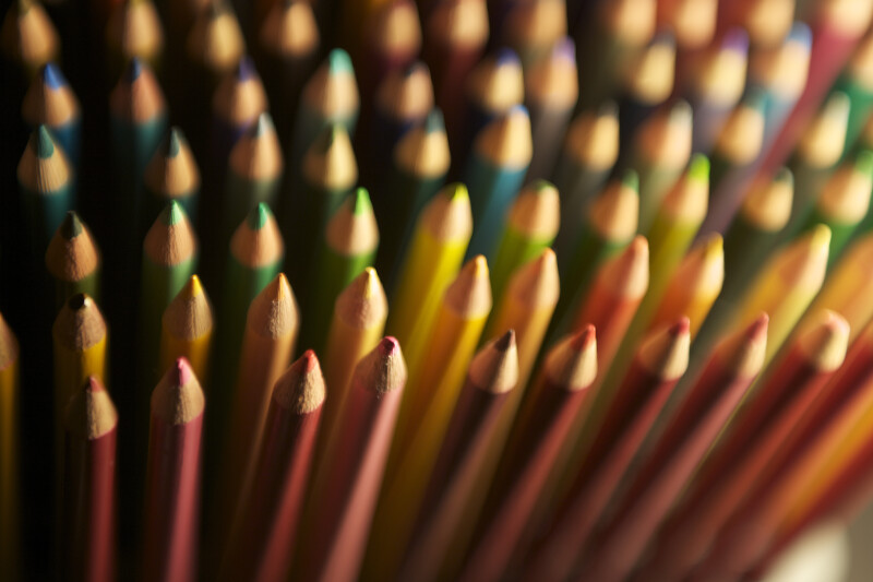 Colored Pencils in Spectral Order