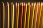 Colored Pencils, Warm Colors