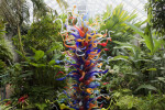 Chihuly Sculpture: End of the Day Tower