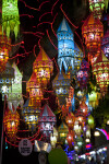 Colorful Fabric Lanterns
