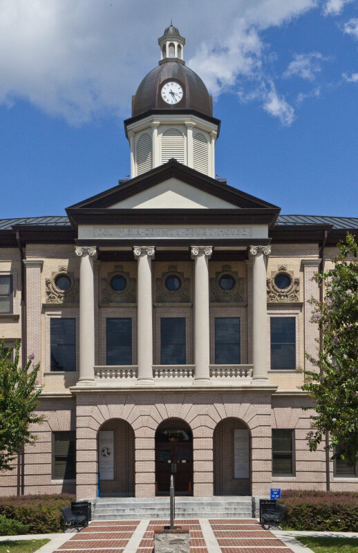 Columbia County Courthouse Façade