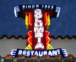 Columbia Restaurant Sign
