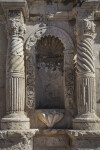 Columns and Niche at the Alamo