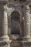 Columns and Niche at the Alamo