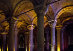 Columns at the Basilica Cistern