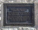Commemorative Plaque at the San Antonio De Valero Mission