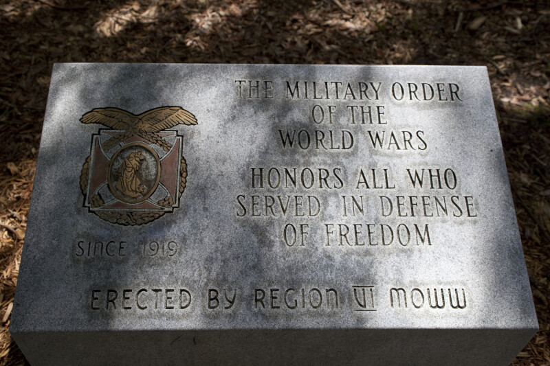 Commemorative Veteran's Plaque