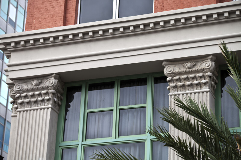 Composite Pilasters on the Exterior of a Building
