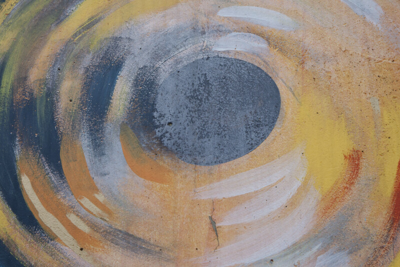 Concentric Oval Painting